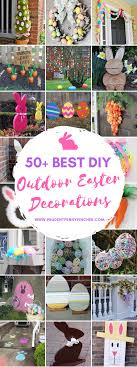 best easter decorations 50 best diy outdoor easter decorations prudent pincher