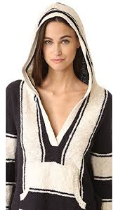 baja sweater pam gela striped baja sweater shopbop
