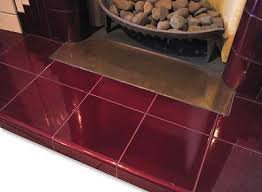tiled fireplace hearths from fireplace uk glazed tiled