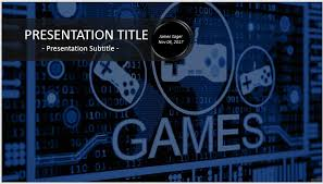 video game powerpoint template video games powerpoint 31159 free