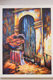 Home Decor Paintings by Home Decor Wall Decor Oil Painting Peruvian Art Peruvian Art