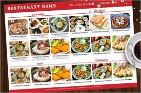 30 breakfast menu templates free sample menu card ideas