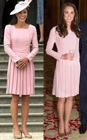 duchess kate duchess kate recycles emilia wickstead dress emilia wickstead dress in pastel pink from kate middleton s recycled