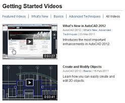 autocad tutorial getting started autocad 2012 video tutorials