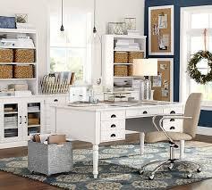 Pottery Barn Desk White 109 Best Home Office Decor Images On Pinterest Home Office