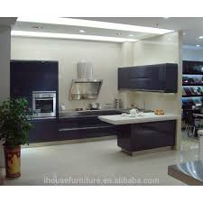 blue lacquer kitchen cabinets blue lacquer kitchen cabinets