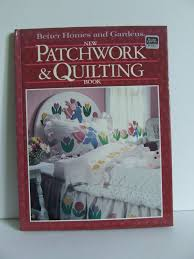 sewing patterns home decor better homes and gardens new patchwork and quilting book vintage