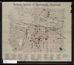 Map Of Minneapolis Mn John R