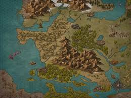 Map Generator D D Made My First World Map For My Campaign Incarnate Dndmaps