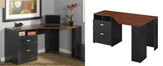 Wheaton Reversible Corner Desk Walker Edison Soreno 3 Corner Desk Review Space Saving Desk