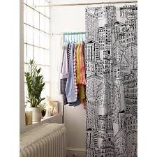 Target Striped Shower Curtain Rugby Stripe Shower Curtain White Blue Cool Room Essentials