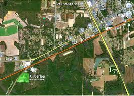 Valdosta Map Location Helping Business Grow