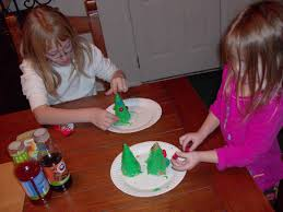 kids u0027 craft edible christmas tree cones mommysavers