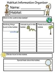 habitats worksheets 2nd grade 28 templates 1000 images about