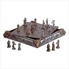 Chess Set Amazon Unique Chess Sets On Amazon Medieval Harry Potter And Elvis