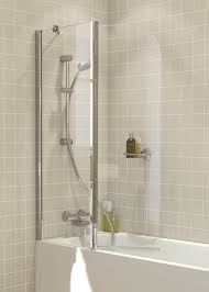 over bath shower screens lakes bathrooms