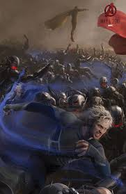 quicksilver film marvel avengers age of ultron posters with quicksilver vision and