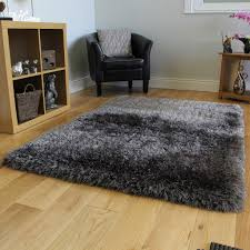 corner plain shaggy area rugs also super soft thick grey shaggy