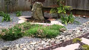backyard home garden of rock garden design for backyard garden