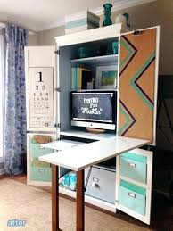 Distressed Computer Desk Distressed Computer Armoire Best Ideas About Computer On Craft