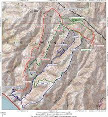 Pacific Crest Trail Washington Map by El Moro Canyon Crystal Cove State Park