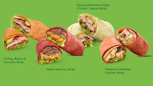 what are wraps subway spotted serving up new signature wraps chew boom