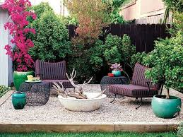 Outdoor Furniture For Small Patio by Pea Gravel Patio Ideas Small Patio Design Ideas Firepit Outdoor