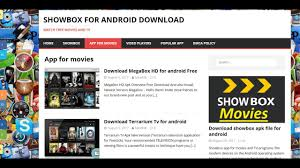 showbox apk file showbox apk