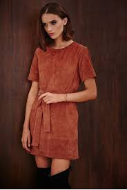 belted suede dress long tall sally