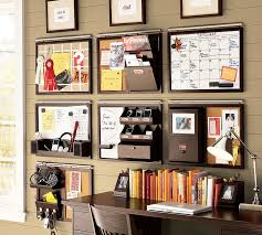 Desk Wall Organizer Home Office Awesome Home Office Decoration With Brown Desk