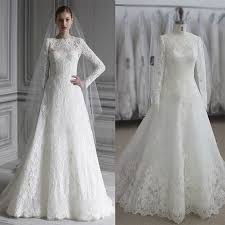 wedding dress muslimah aliexpress buy sleeve zuhair murad wedding dress muslim