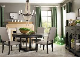 Emporium Round Dining Table By Bassett Furniture Contemporary - Bassett dining room