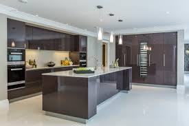 Modern Kitchens Designs Extreme Contemporary Minimal High Gloss Kitchen Design In Private