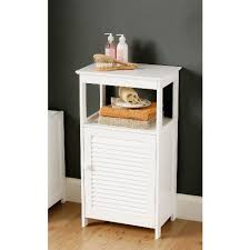 Floor Cabinet For Bathroom White Bathroom Floor Cabinet With Shelf 1600901 3137 White