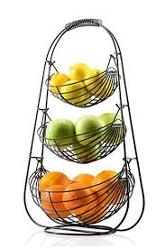3 tier fruit basket saganizer bronze 3 tier fruit baskets fruit basket wall s