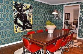 Midcentury Modern Wallpaper - iconic wallpapers that bring in style and pattern decor advisor
