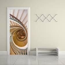 aliexpress com buy 2 pcs set 3d decal spiral staircase wall