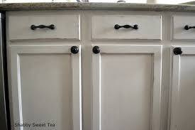 How To Glaze White Kitchen Cabinets by Cute Glazing Kitchen Cabinets Featuring Black Wooden Color Kitchen