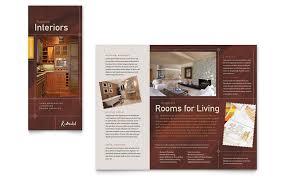 home remodeling tri fold brochure template word u0026 publisher