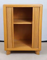 Tambour Doors For Kitchen Cabinets Heywood Wakefield Tambour Door Cabinet At 1stdibs