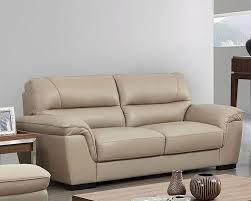 bige color modern leather sofa in beige color esf8052s