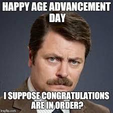 Generate Meme - best of meme generate ron swanson happy birthday imgflip kayak