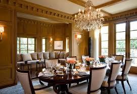 elegant formal dining room rectangular blue fabric stacking chairs