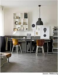 bureau et blanc idee deco bureau gris taupe et blanc esprit vintage