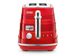 Red 2 Slice Toaster Avvolta 2 Slice Toaster Red Toasters Delonghi