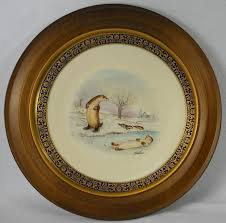 lenox china woodland wildlife series complete ten plate series for