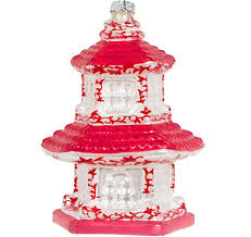 amazing and white pagoda ornament style 1