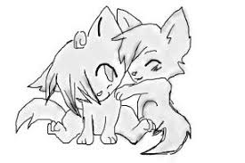 photo collection cute wolf pup drawing