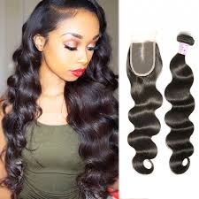short hairstyles with closures beautyforever body wave hair weft with closure 4 brazilian hair