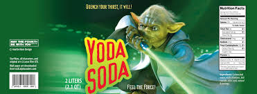 Printable Halloween Drink Labels by Downloadable Yoda Soda And Darth Pop Labels May The Fourth Be